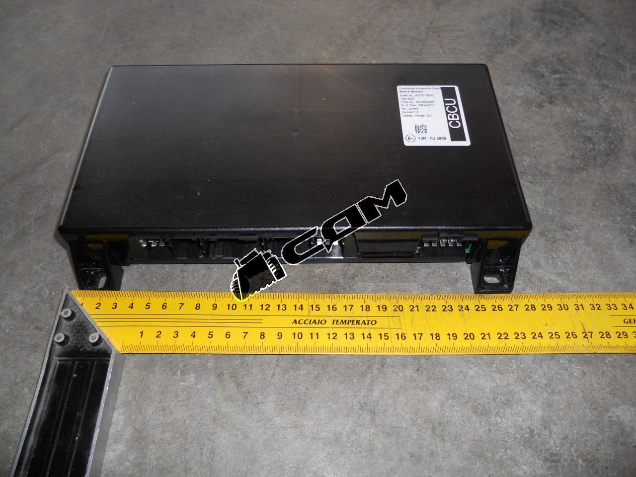 Блок управления электрооборудованием CBCU (2011 г.в.)  WG9716580023-1